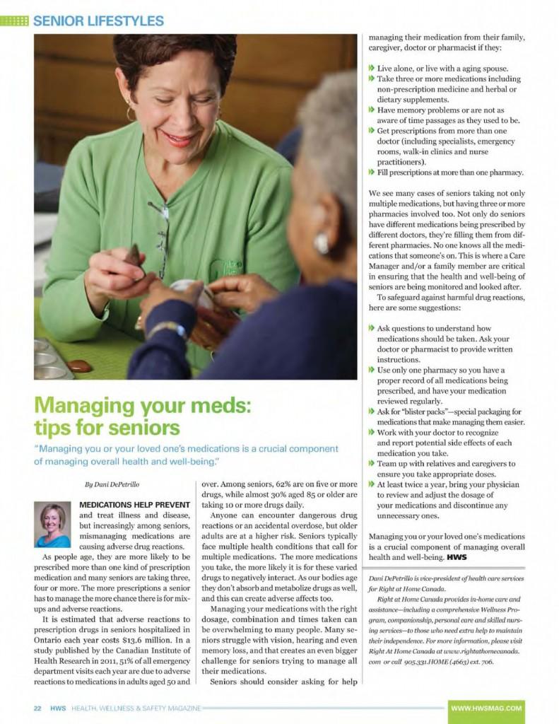 Hudescommunications Com: Managing Your Meds: Tips For Seniors